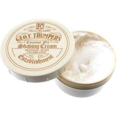 Geo F Trumper Coconut Oil Shaving Cream Bowl 200g - Ozbarber