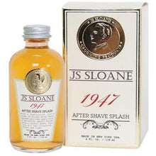 "Load image into Gallery viewer, JS SLOANE ""1947"" AFTER SHAVE SPLASH - Ozbarber"