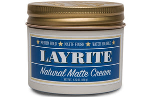 LAYRITE NATURAL MATTE CREAM 120G - Ozbarber
