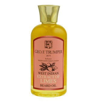 GEO F TRUMPET EXTRACT OF LIMES BEARD OIL 100ML - Ozbarber
