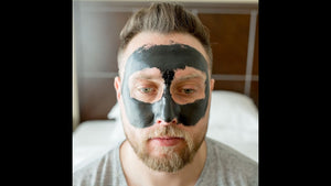 CLUBMAN CHARCOAL PEEL-OFF BLACK MASK 3 OZ - Ozbarber