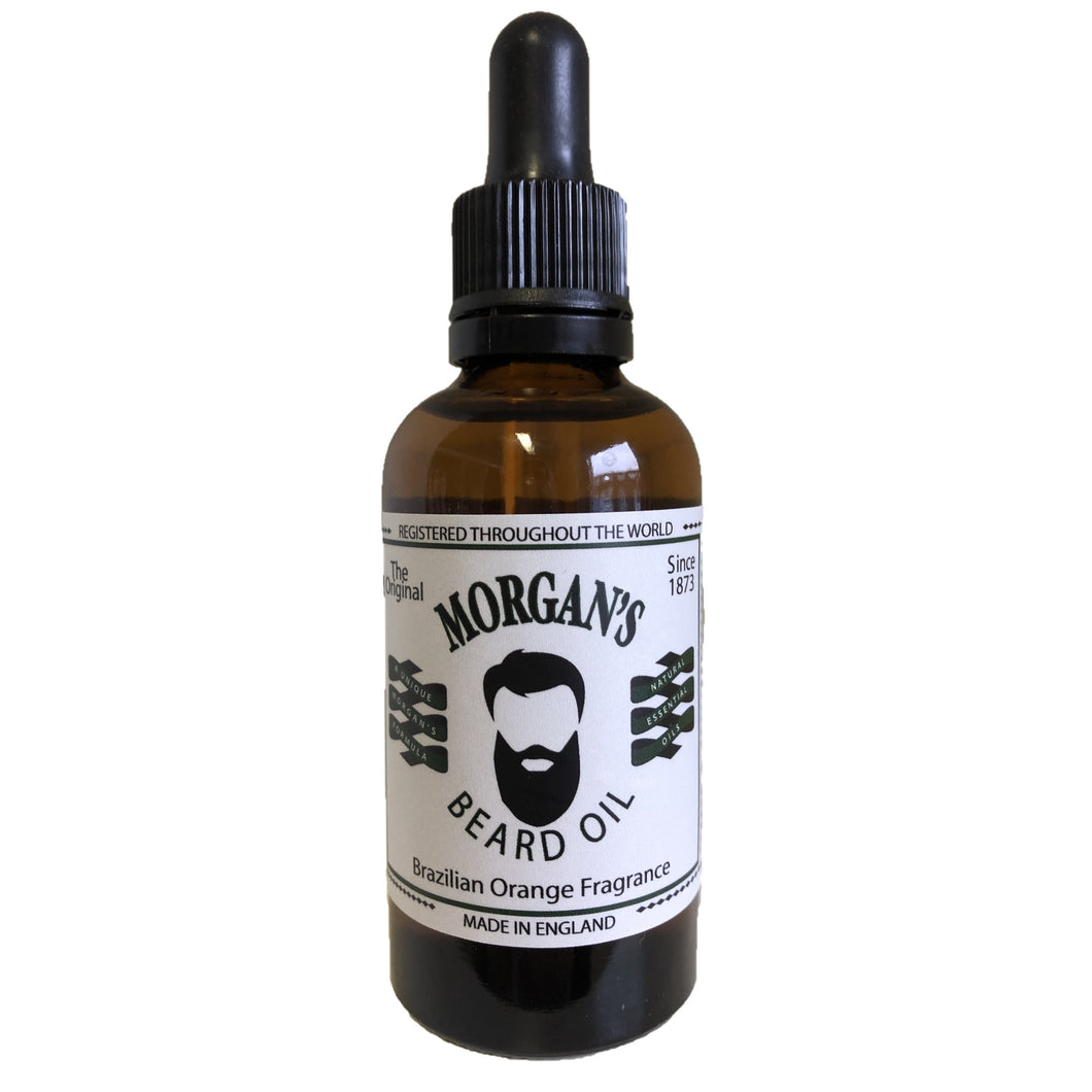 MORGAN'S BRAZILIAN ORANGE BEARD OIL 50ML - Ozbarber