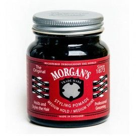 MORGAN'S STYLING POMADE – MEDIUM HOLD 100ML - Ozbarber