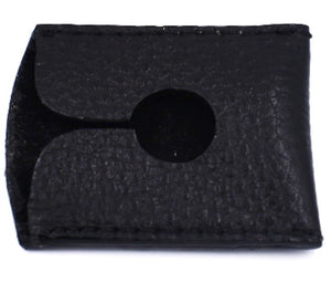 PARKER BLACK LEATHER RAZOR HEAD COVER - Ozbarber