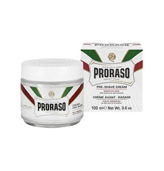 PRORASO PRE & POST CREAM, GREEN TEA & OAT, 100ML - Ozbarber