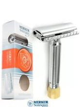 Load image into Gallery viewer, MERKUR SOLINGEN PROGRESS DOUBLE EDGE SAFETY RAZOR - Ozbarber
