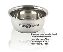 Load image into Gallery viewer, FRANK SHAVING SHAVING BOWL STAINLESS STEEL - Ozbarber