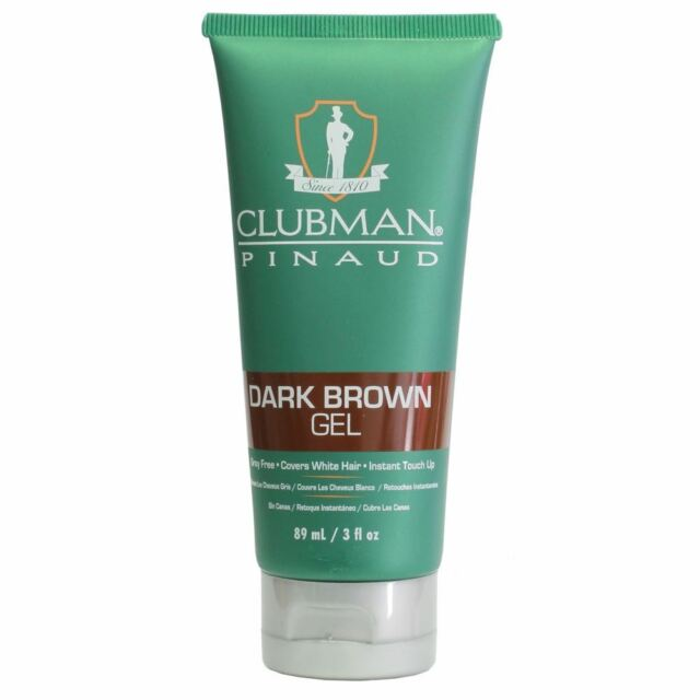 Clubman Pinaud Temporary Hair Colour Dark Brown Gel 85g