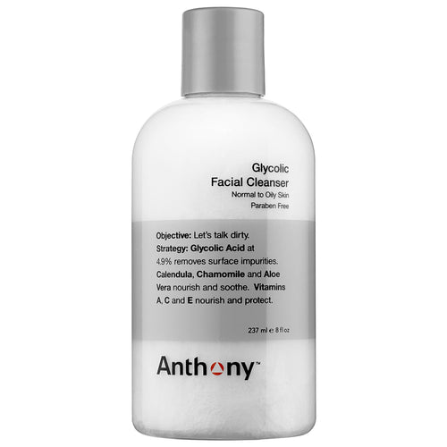ANTHONY GLYCOLIC FACIAL CLEANSER 237ML - Ozbarber