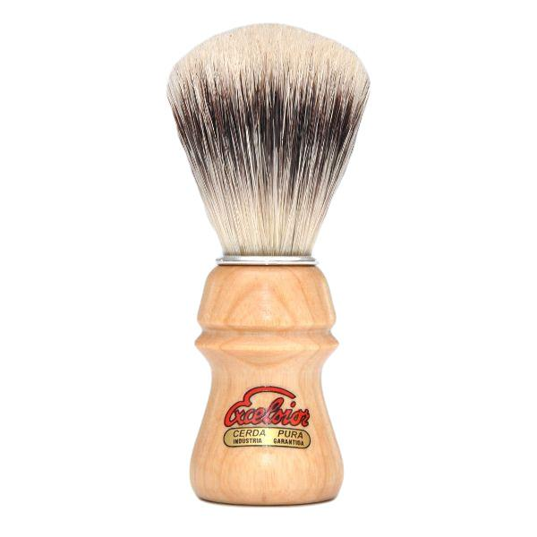 SEMOGUE 1800 BEECH WOOD HANDLE PURE BRISTLE SHAVING BRUSH - Ozbarber