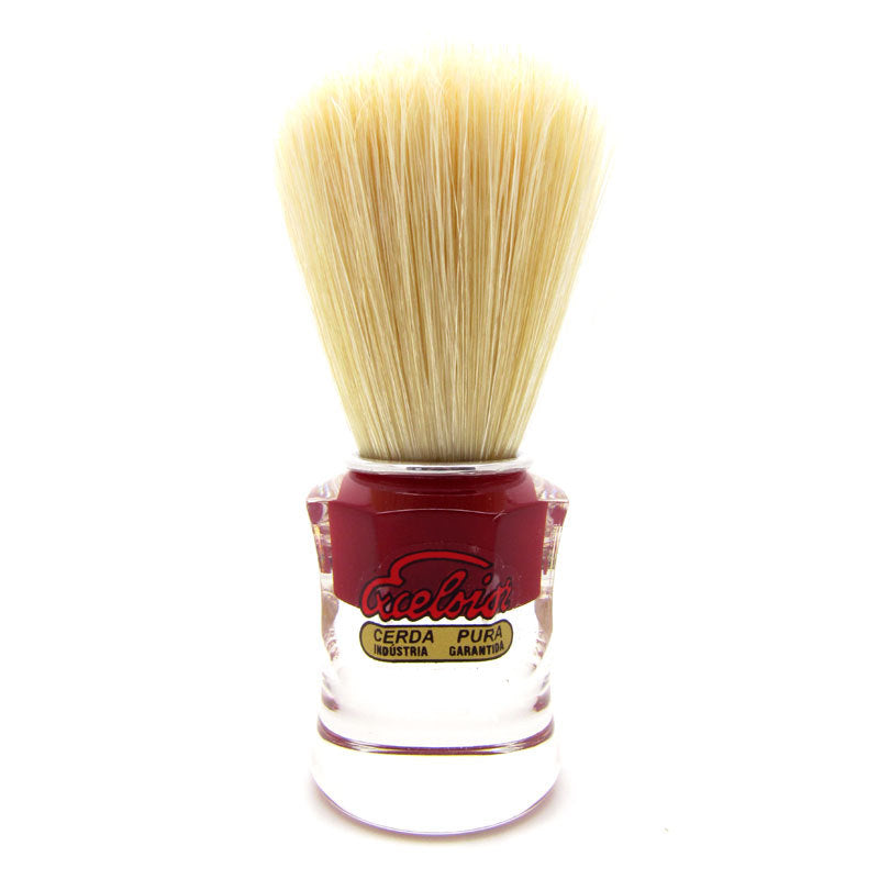 SEMOGUE 820 RED PURE BOAR BRISTLE SHAVING BRUSH - Ozbarber