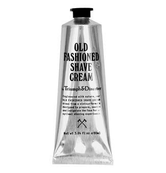 TRIUMPH & DISASTER OLD FASHIONED SHAVE CREAM 90ML TUBE - Ozbarber
