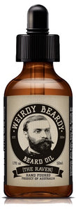 WEIRDY BEARDY THE RAVEN BEARD OIL 50ML - Ozbarber