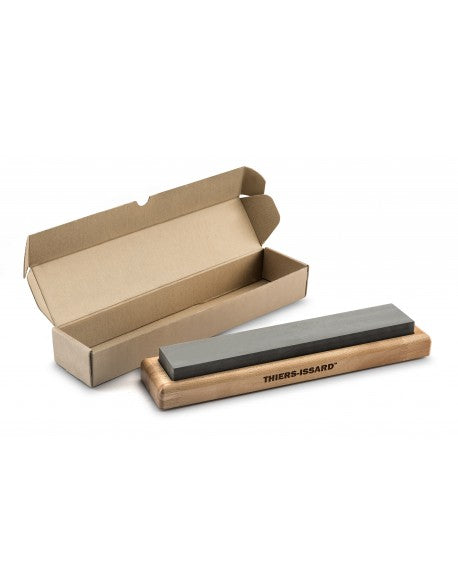 Thiers Issard Sharpening Stone with Beech Base