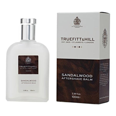 TRUEFITT & HILL SANDALWOOD AFTERSHAVE BALM 100ML - Ozbarber