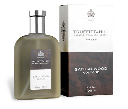 TRUEFITT & HILL SANDALWOOD COLOGNE 100ML - Ozbarber