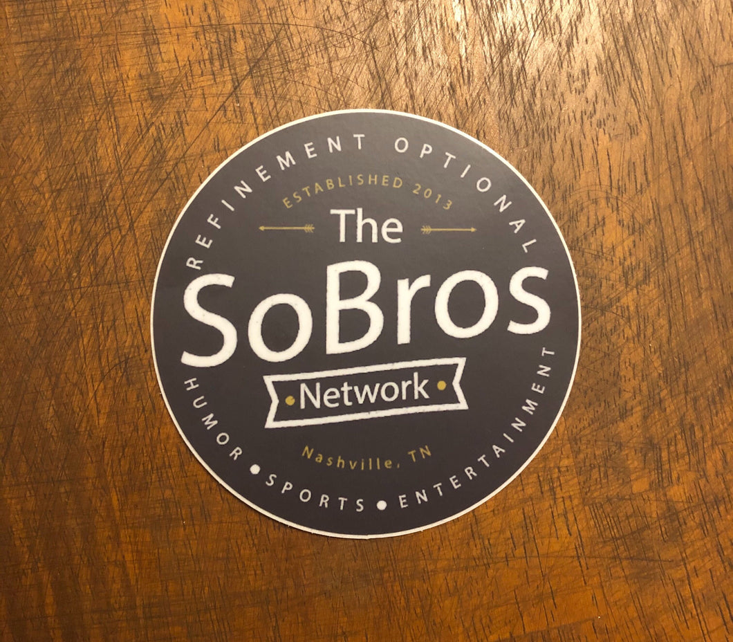 SoBros Network Sticker