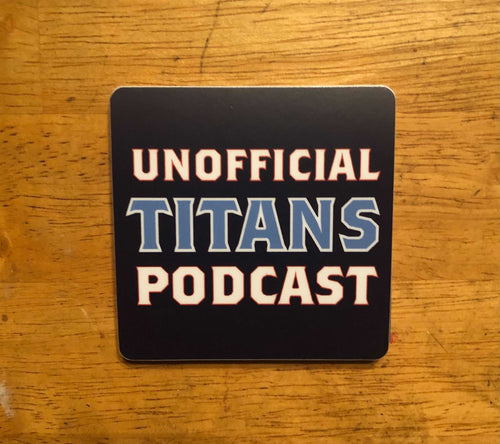 Unofficial Titans Podcast Sticker