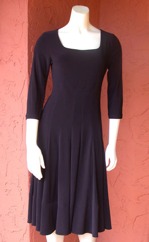 3/4 Sleeve Coach Dress