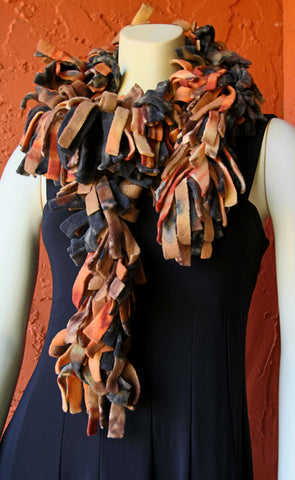 Polar Fleece Scarves - Harvest