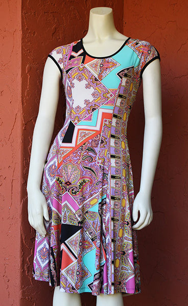 Keyhole Coach Dress: Sgt. Pepper