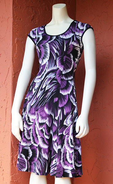 Keyhole Coach Dress: Tropical Shells