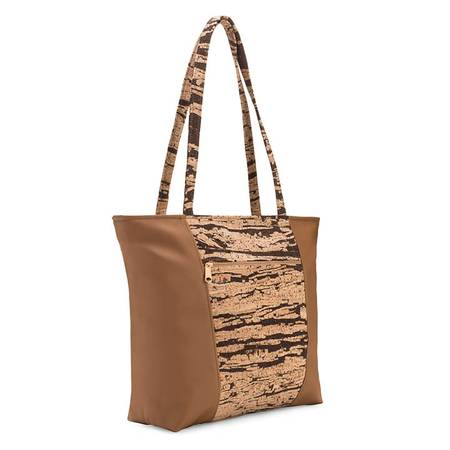 Be Basic 2 Large Tote Bag | Bark Cork (Bark Cork) - BumBoo Bamboo