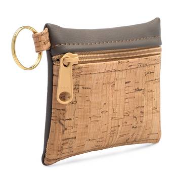 Be Organized Keychain | Cork + Faux Leather - BumBoo Bamboo