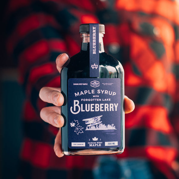Forgotten Lake Blueberry Maple Syrup