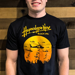 Hopocalypse Now Black IPA Tee