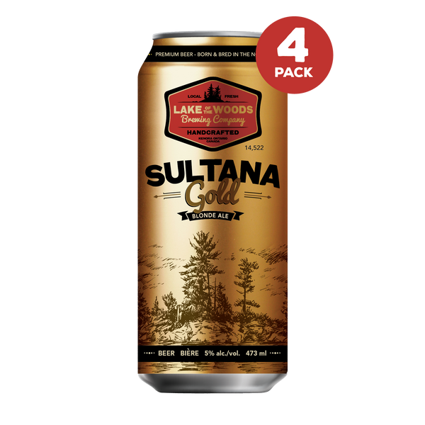 Sultana Gold 4 Pack