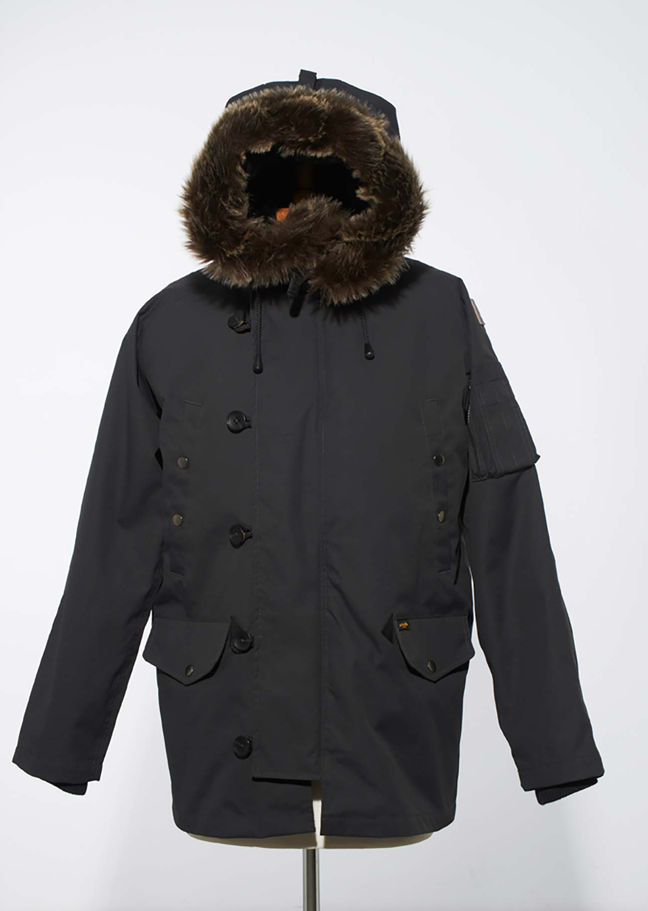 Jimmy Fur Parka Jacket - Grey