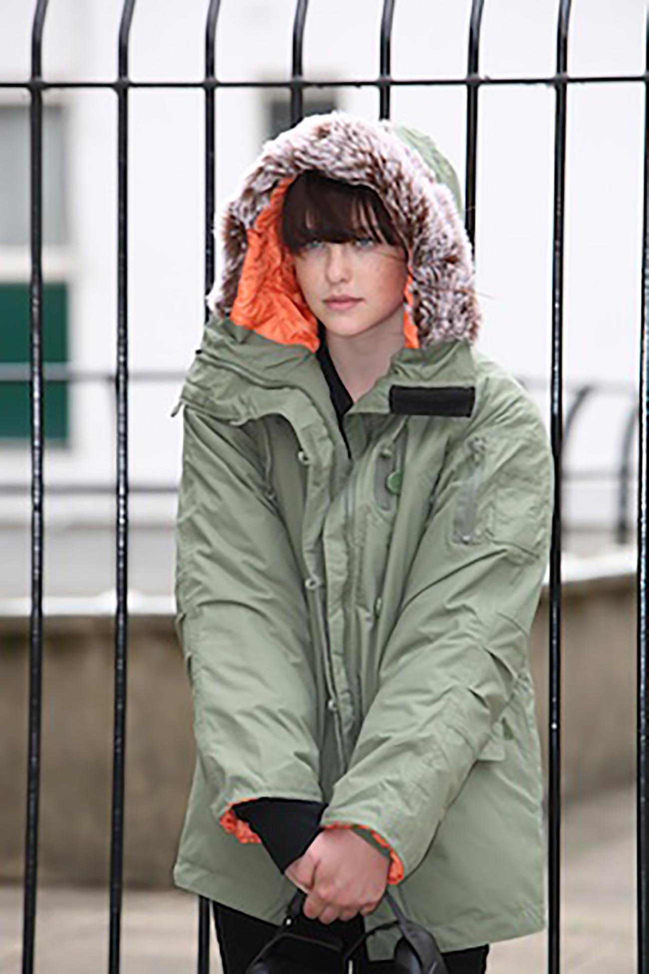 Ladies Parka - Green