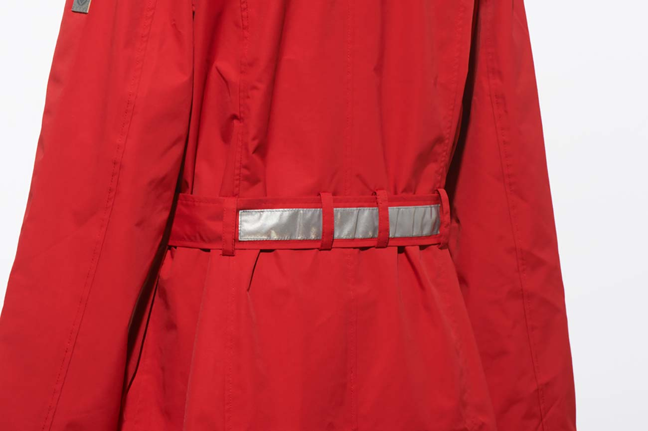Scarlett Mac Women's Waterproof Jacket - Red