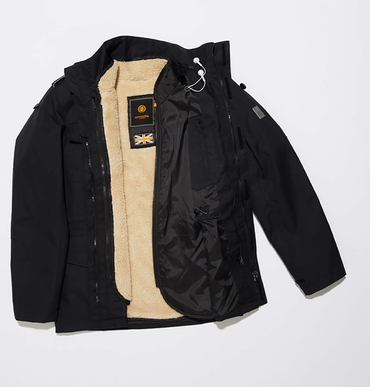 Travis B Men's Jacket - Black