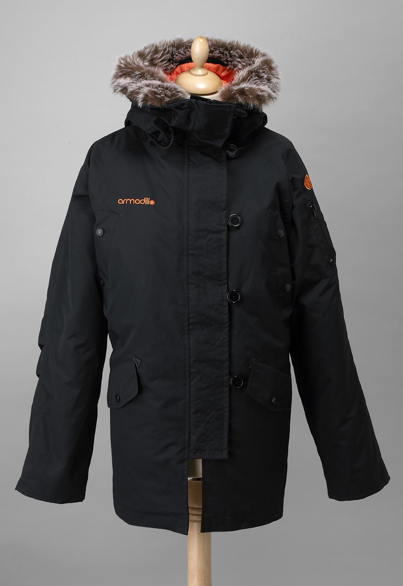 Ladies Parka - Black