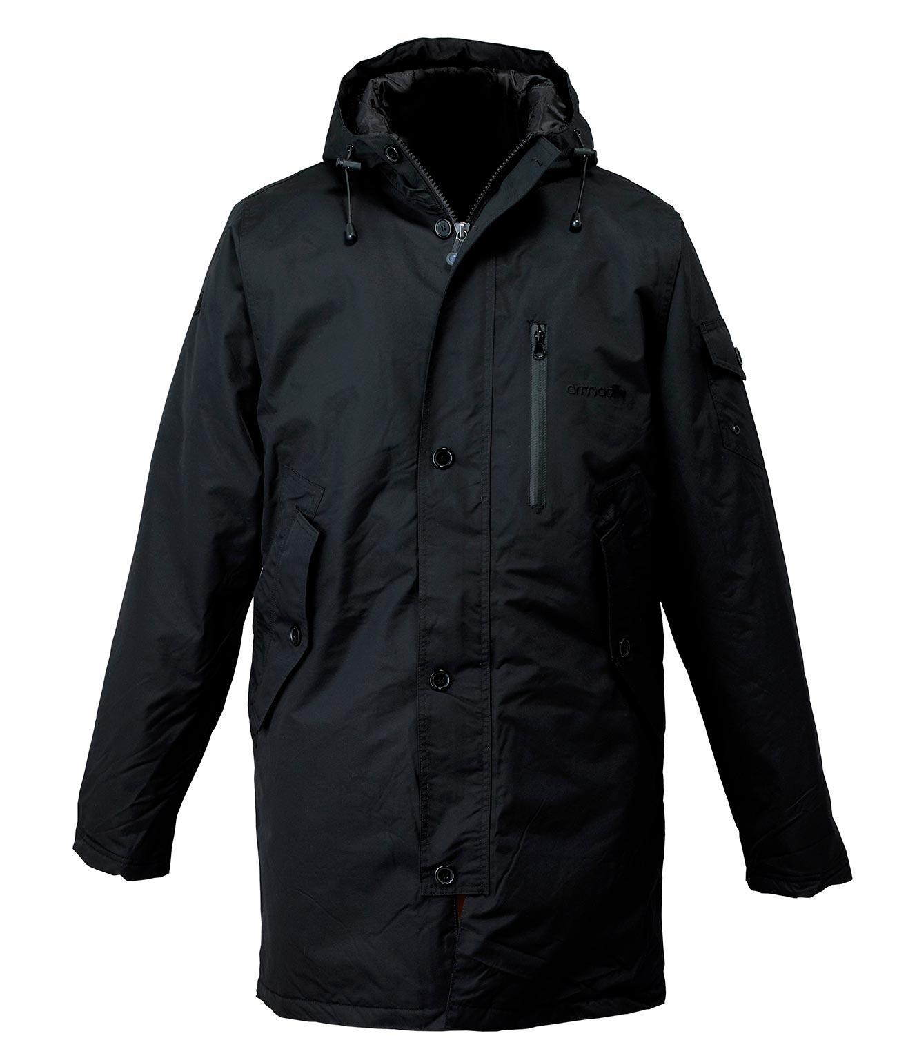 Men's Parka - Black
