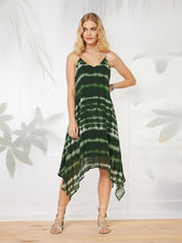 Load image into Gallery viewer, Fifteen Twenty Hankerchief Hem Dress