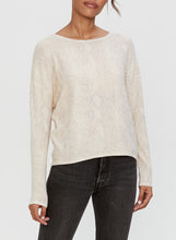 Load image into Gallery viewer, Micheal Stars Dina Boat-neck Long sleeve Top