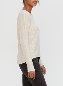 Micheal Stars Dina Boat-neck Long sleeve Top