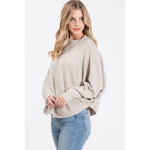 Allie R. Dolman Sleeve Sweater