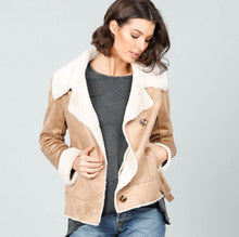 Load image into Gallery viewer, Brave and True Haywood Faux Sherling Jkt