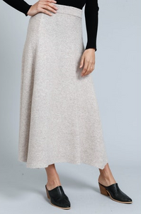 Brave and True Kennedy Knit Maxi Skirt