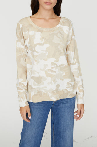 Sanctuary Camo Sweater
