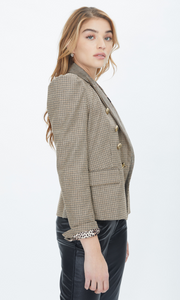 Generation Love Peyton Plaid Combo Blazer