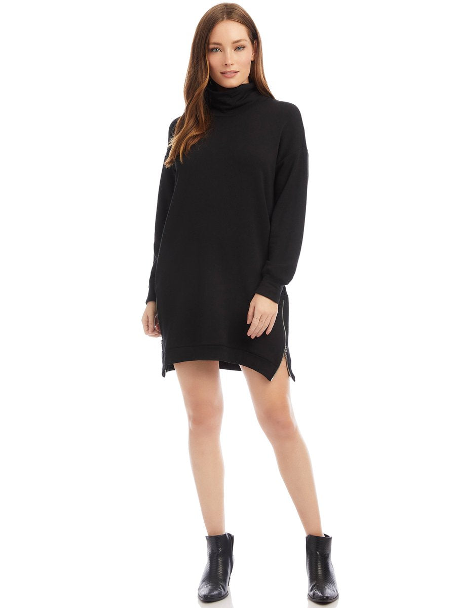 Fifteen Twenty Mock Neck Dress