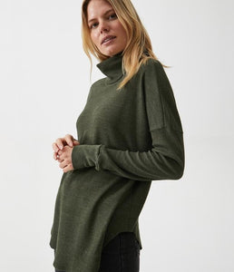 Michael Stars Thermal Cowl Tunic