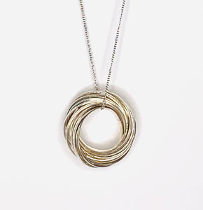 Circle Pendant Necklace - Small