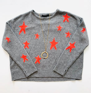 Acrobat Stars Crew Neck Sweater