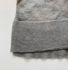Autumn Cashmere Tissue weight Hoodie w/ Contrast stripe